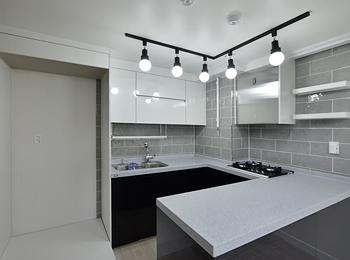 monointerior > MONO 포트폴리오 공간별 > 25평 아파트 주방인테리어 ...